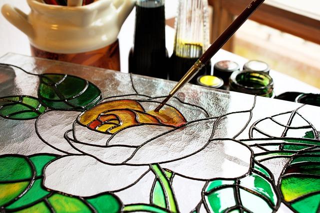 malování na sklo