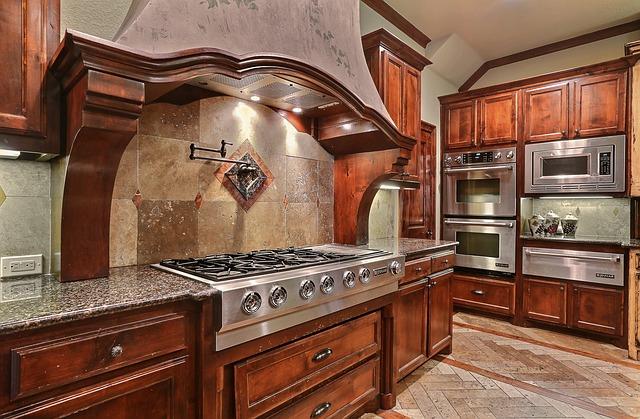 luxusní kuchyň