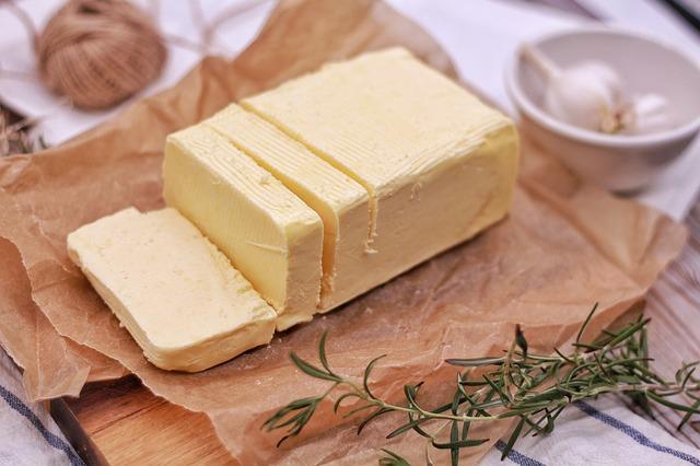 Farmářské lahodné máslo