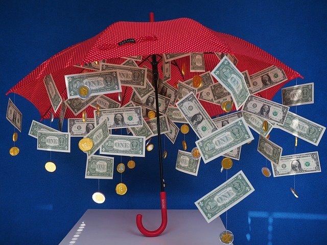 deštník jako svatební dar