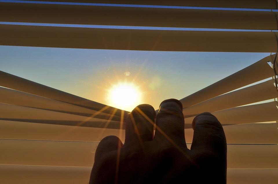 sluneční světlo